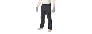 CA-397LG URBAN TACTICAL PANTS (COLOR: BLACK) WAIST: 36 INCH