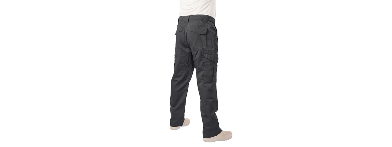 CA-399SM TACTICAL OUTDOOR PANTS (COLOR: BLACK) WAIST: 32 INCH
