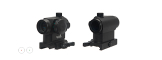CA-418B MINI RED & GREEN DOT SIGHT w/QUICK RELEASE MOUNT