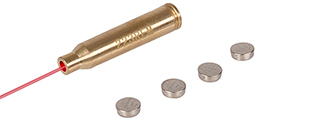 CA-432 BRASS LASER BORE SIGHT CARTRIDGE (223 REM / 5.56 NATO)