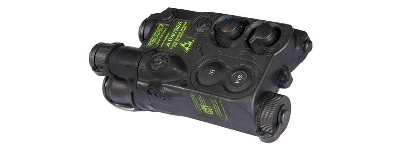 AN/PEQ-16 BATTERY CASE (COLOR: BLACK)