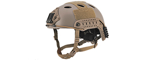 Lancer Tactical CA-725T FAST Helmet - Dark Earth