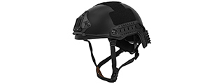 CA-726B HELMET BALLISTIC TYPE (COLOR: BLACK) (LG/XL)