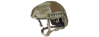 "HELMET ""BALLISTIC"" TYPE (COLOR: AT) SIZE: MED/LG"