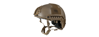 CA-726N HELMET BALLISTIC TYPE (COLOR: TAN CUSTOM) (MED/LRG)