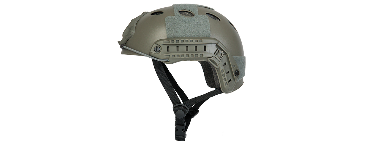 Lancer Tactical CA-738G HELMET in Foliage Green (Basic Version)