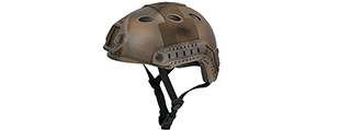 Lancer Tactical CA-738N HELMET in Custom Dark Earth (Basic Version)