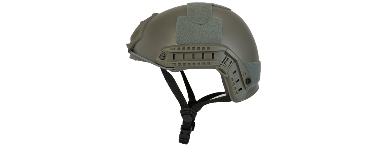 Lancer Tactical CA-739G Ballistic Helmet in Foliage Green (Basic Version)