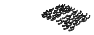 Lancer Tactical CA-758B Rail Index Clips 60 Pieces Set - Black