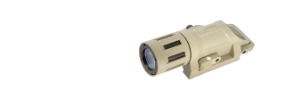 Lancer Tactical CA-766T Weapon Mounted Light w/ Battery in Tan