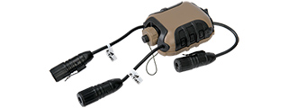 Lancer Tactical CA-786B Z4OPS Classic Push-To-Talk (Lite Edition), Motorola 2-Pin Version