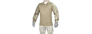 CA-790SM1 COMBAT UNIFORM BDU SHIRT (COLOR: JUNGLE DIGITAL) SIZE: SMALL
