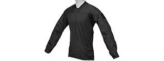 CA-796XL TLS HALFSHELL SHIRT (BLACK) X-LARGE