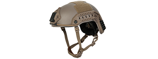 CA-805T MARITIME HELMET ABS (COLOR: DARK EARTH) (MED/LG)