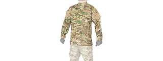 CA-818XL1 R6 STYLE BDU SHIRT (COLOR: MODERN CAMO) SIZE: X-LARGE