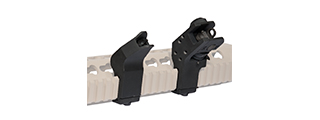 "CA-829B DD STYLE ""QUICK TRANSITION"" SIGHT SET (COLOR: BLACK)"