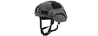 "CA-837B ACH MICH 2000 HELMET - SPECIAL ACITION VERSION ""PLASTIC"" (COLOR: BLACK)"
