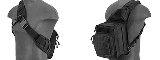 CA-981B MESSENGER BAG (BLACK)