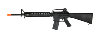 CYMA CM009A4 M16A4 RIS FULL METAL AEG METAL GEAR (COLOR: BLACK)