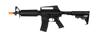 CM018 M4 METAL GEAR AEG RIFLE W/ LE STOCK AND CARRY HANDLE (BLACK)