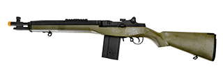 Cyma CM032A(GREEN) M14 SOCOM AEG Metal Gear, ABS Body in OD Green