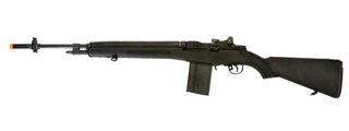 Cyma CM032BLACK M14 AEG Metal Gear, ABS Body in Black