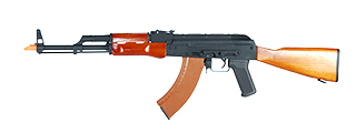 Cyma CM036A AK-47 AEG Metal Gear, Full Metal Body, Real Wood Stock and Handguard