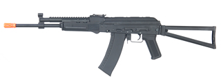 CYMA CM040J AK74 FULL METAL AEG w/GAS BLOCK RAIL (COLOR: BLACK)