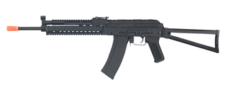 CYMA CM040K AK74 FULL METAL AEG w/GAS BLOCK & HAND GUARD RAIL (COLOR: BLACK)