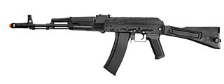 LANCER TACTICAL AK-74M AIRSOFT AEG RIFLE W/ SIDE-FOLDING STOCK (BLACK)