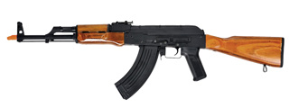 Lancer Tactical AKM Full Metal Airsoft AEG Rifle (REAL WOOD)