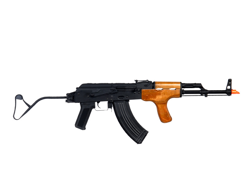 Cyma CM050 Romanian AIMS AEG Metal Gear / Body, Electric Blow-Back System, Real Wood Handguard, Metal Side Folding Stock