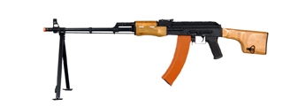 Cyma CM052 RPK AEG Metal Gear, Full Metal Body, Real Wood Furniture, Built-in Bipod