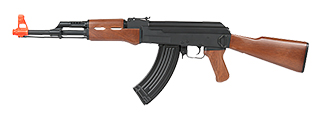 CYMA CM200 AK-47 AEG PLASTIC GEAR (COLOR: BLACK & WOOD)