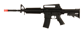 Well D94S M4A1 Auto Electric Gun Plastic Gear w/ Retractable Stock