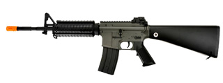 JG F6619 SR16 RIS AEG Metal Gear, Polymer Body, Rail Covers, Fixed Stock