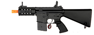 Golden Eagle JG FB6625 M4 RIS CQB Stubby AEG Metal Gear, Full Metal Body, Fixed Stock