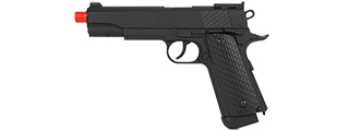 "G292B WELLFIRE CO2 POWERED ""NON-BLOWBACK"" POLYMER M1911 PISTOL"