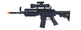 UKARMS G70A MINI M4 S.I.R. SPRING POWERED RIFLE (BLACK)