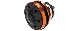 LONEX AIRSOFT ALUMINUM MUSHROOM TYPE PISTON HEAD - ORANGE