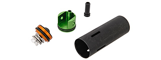 LONEX AIRSOFT P90 MUSHROOM TYPE PISTON HEAD CYLINDER SET