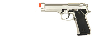 HFC HA-118S Premium Spring Pistol in Silver - Made in Taiwan