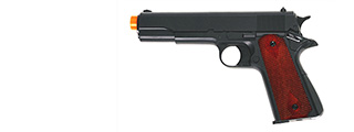 HFC HG-121B Gas Powered Pistol in Black