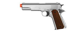 HFC HG-121S Gas Powered Pistol in Silver