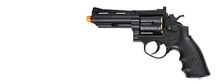 HFC HG-132B Gas Powered Revolver Pistol in Black