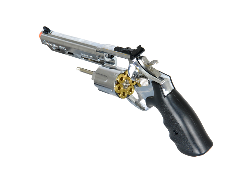 HFC HG-133C Gas Powered Revolver Pistol in Silver