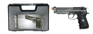 HFC HG-193 Gas Powered Pistol with Blowback - Semi Only