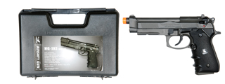 HFC HGA-193 Gas Powered Pistol with Blowback - Semi/Full Auto