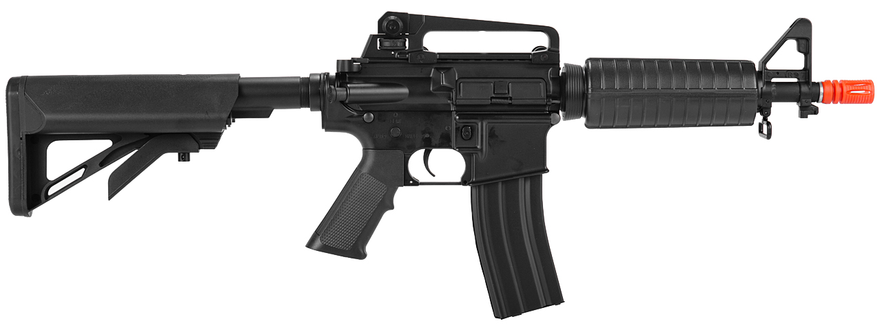 ICS ICS-126 M4 w/ Commando Crane Stock, Metal Body in Black