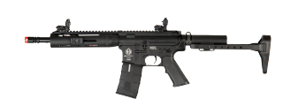 ICS ICS-129 Tubular CXP Rifle, Full Metal AEG, Black